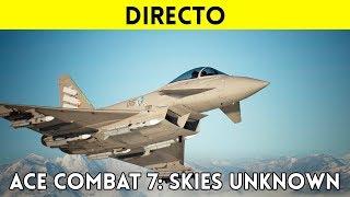 STREAMING español ACE COMBAT 7: Skies Unknown (PS4 Pro) - Acción aérea VIBRANTE y ESPECTACULAR
