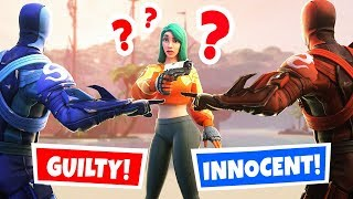 *NEW* ESCAPE the KILLER or DIE! (Fortnite Murder Mystery)