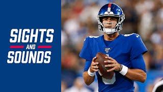 Top Sounds from Daniel Jones' NFL DEBUT! | Giants vs. Jets