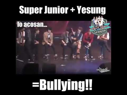 Super Junior + Yesung= Bullying