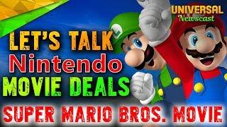 Universal & Nintendo discuss Super Mario Bros Movie - Universal Studios News 12/13/2017