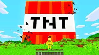 Using MODDED TNT to DESTROY Minecraft!