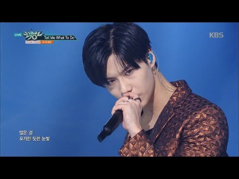 Music Bank 뮤직뱅크 - SHINee 샤이니, 'Tell Me What To Do'.20161125