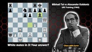 Mikhail Tal's Most Outrageous Checkmate!
