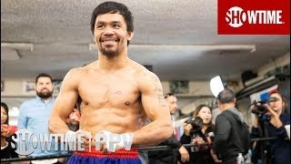 Pacquiao vs. Broner: Media Workout | SHOWTIME PPV