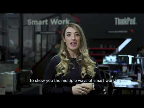 ThinkVision M14 Monitor at Tech World 2019