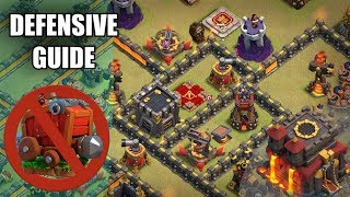 Defend the Wall Wrecker! TH10 Defensive Guide | Clash of Clans