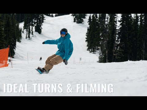 Ideal Turns & Filming On A Snowboard