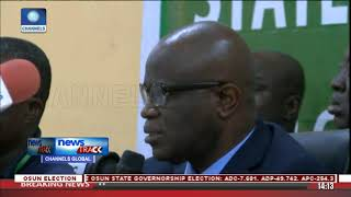 INEC Declares Osun Governorship Election Inconclusive