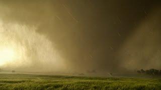 TOO CLOSE TO EF4 TORNADO - Inside Debris Cloud in 4K