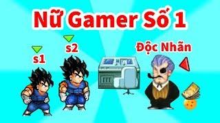 Ngọc Rồng Online - Phá Đảo Doanh Trại Cùng Nữ Gamer S1PhamHang !