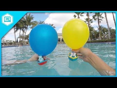 Balloon Boat - 3D Printing