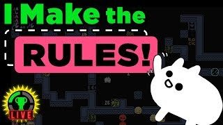 GTLive: Break ALL The Rules!   Baba Is You
