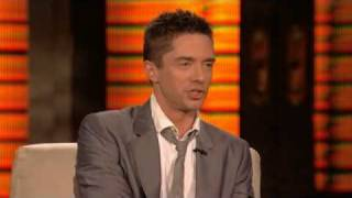 Lopez Tonight - Topher Grace Interview - Getting High & Ashton Kutcher