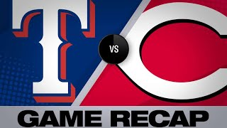 Odor's grand slam leads Rangers to win | Rangers-Reds Game Highlights 6/14/19