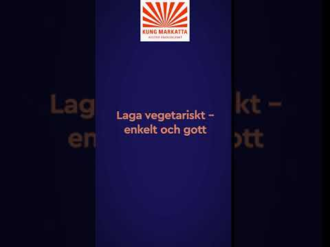 Vegetariskt och ekologiskt från Kung Markatta - nu även i frysdisken!