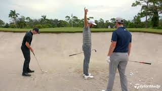 Rory McIlroy, Dustin Johnson, & Jon Rahm's Bunker Technique   TaylorMade Golf