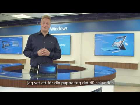 Surface Pro 4 How-to - Brevfilm med Hanna
