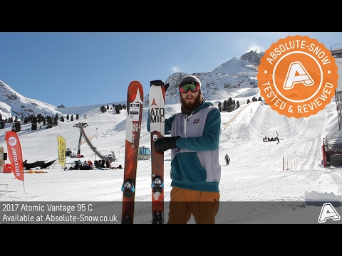 2016 / 2017 | Atomic Vantage 95 C Ski | Video Review