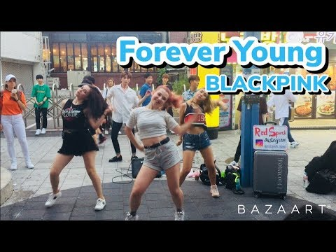 180803 Red Spark (레드스파크) BLACKPINK - Forever Young cover dance 홍대 HD