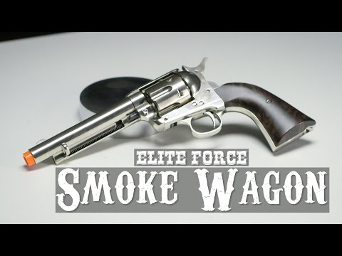 Elite Force Co2 Smoke Wagon Revolver Airsoft Pistol | AIRSOFTGI.COM