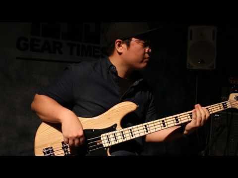 Cort GB54JJ NAT Electric Bass