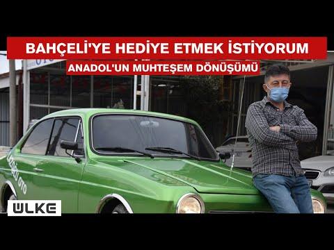 Anadol marka otomobilin muhteşem dönüşümü!