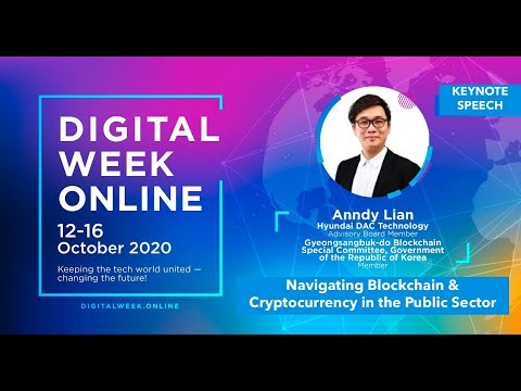 Keynote Speech by Anndy Lian: Navigating blockchain & cryptocurrency in the public sector
