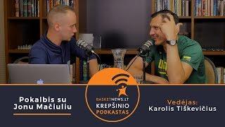 """BasketNews.lt"" podkastas: Pokalbis su Jonu Mačiuliu"