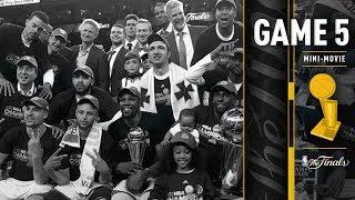 2017 NBA Finals Game 5 Mini-Movie | The Warriors Win the 2016-2017 NBA Championship