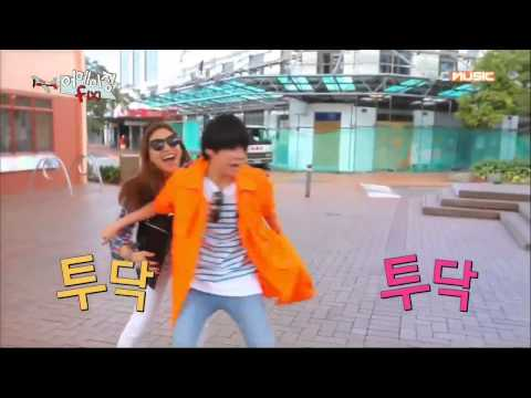 [Show] 130528 f(Amber, Luna) - Comedy Couple @ Amazing f(x) E01 [Cut]