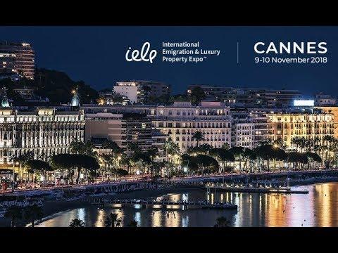 Международная выставка по иммиграции и элитной недвижимости Cannes IELP Expo 2018. Анонс photo