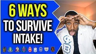 HOW TO SURVIVE INTAKE!?   NPHC ADVICE   COREY JONES