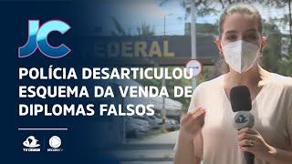 Polícia desarticulou esquema da venda de diplomas falsos em Maracanaú