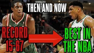How The Bucks Went From One Of The Worst Teams Ever To The Best Team In The NBA