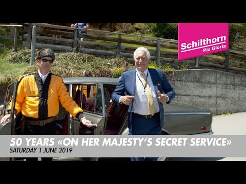 """50 YEARS .  """"On Her Majesty's Secret Service"""" . June 2019"""