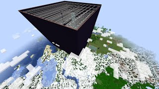 The Largest Base in Minecraft Part 3 - planting 8288 chests