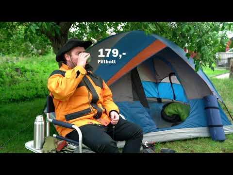 Alt du trenger til telturen