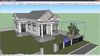Thiet ke 3D (Nha cap 4 B) 5L SketchUp 8