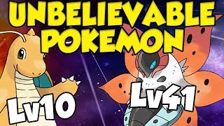 UNBELIEVABLE POKEMON LOCATIONS in Pokemon Ultra Sun and Ultra Moon - Lv10 Dragonite?