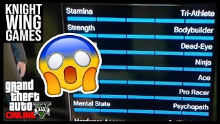 HOW TO MAX YOUR STATS IN GTA 5 ONLINE