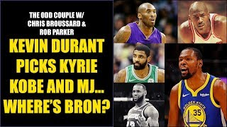 Chris Broussard & Rob Parker: Did Kevin Durant Snub LeBron James?