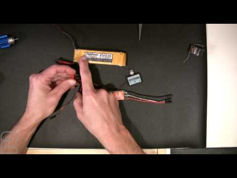 rc motor and esc wiring - part 1 - youtube rc brushless esc wiring