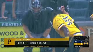 Crazy finishes to mlb games