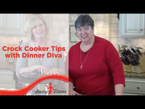 Crock Cooker Tips with Saving Dinner's Leanne Ely and FlyLady Marla Cilley