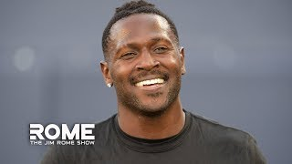 Business Is BOOMING For Antonio Brown And The Patriots   The Jim Rome Show