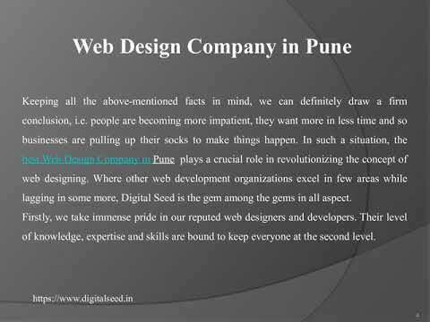 Web Design Company in Pune | Website design agency in Pune | DigitalSeed India