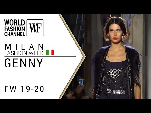 Genny Fall-winter 19-20 Milan fashion week