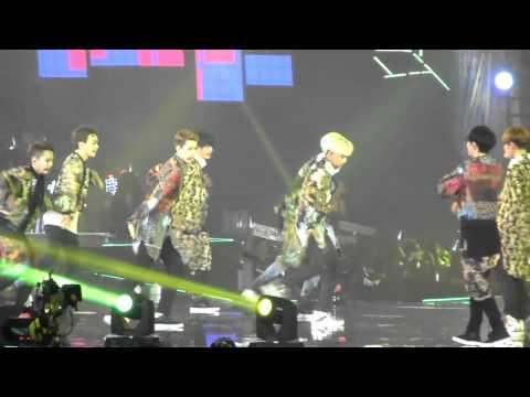 [Fancam] 140602 EXO Dance battle + XOXO - The Lost Planet Concert in Hong Kong