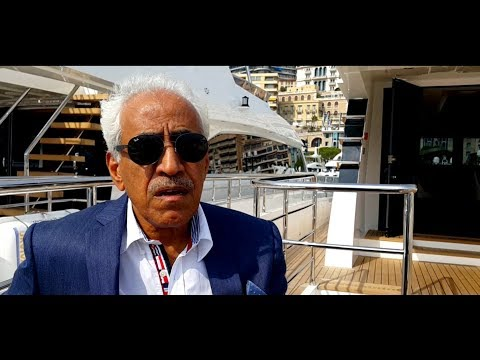 Gulf Craft Chairman, Mohammed Alshaali's interview at the Monaco Yacht Show